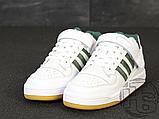 Мужские кроссовки Adidas Originals Forum Low Green/White-Gum AQ1261, фото 2