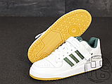 Мужские кроссовки Adidas Originals Forum Low Green/White-Gum AQ1261, фото 3