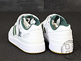 Мужские кроссовки Adidas Originals Forum Low Green/White-Gum AQ1261, фото 4