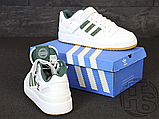 Мужские кроссовки Adidas Originals Forum Low Green/White-Gum AQ1261, фото 6