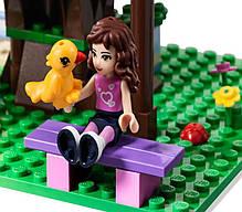 "Конструктор Bela ""Оливия и домик на дереве"" 191 деталей арт. 10158 (аналог LEGO Friends 3065), фото 3"