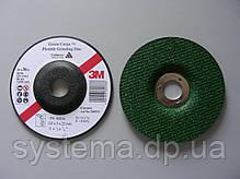 3M™ Green Corps™ 60634 - Гнучкий круг зачисний по нержавіючій сталі, 125х3,0х22,23, Р36, фото 2
