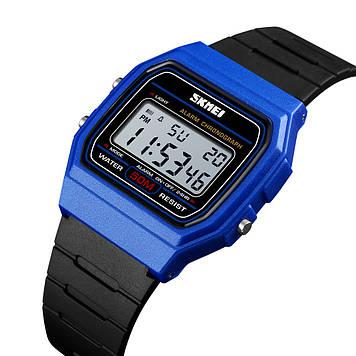 Детские часы SKMEI 1460 синие спортивные