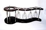 Набор для вина на 4 рюмки-Волна Гранд Презент SS07266, фото 5