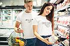 """Парні футболки для закоханих  """"Він мій / Вона моя"""", фото 5"""