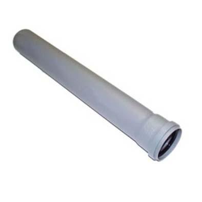 Труба для внутренней канализации 110x500mm (серая)