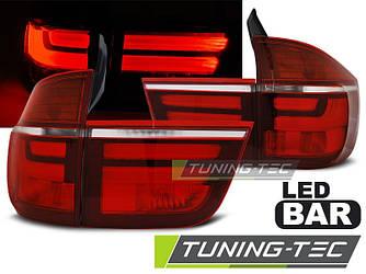 Рестайлинг диодные фонари стопы тюнинг оптика BMW X5 E70