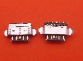 Роз'єм заряду для Nokia 7 Plus, X6, TA-1046, TA-1055 TA-1062, TA-1083, TA-1099, TA-1103, TA-1116