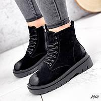 Ботинки женские Nies черный 2817, фото 1