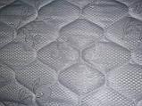 Матрасная ткань стеганая на 150 синтепоне двойной жаккард Белая 195, фото 2