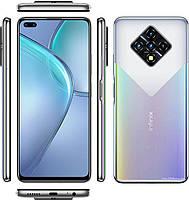 """Смартфон Infinix Zero 8 8/128GB Silver Diamond, 64+8+2+2 Мп, 6.85"""" IPS, 2sim, 4G, 4500мАһ, Helio G90T"""