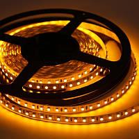 LED лента 3528(2835)/120 12V IP20 жёлтая