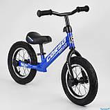 Беговел - велобег Corso надувные колеса 12 дюймов, фото 3