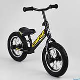 Беговел - велобег Corso надувные колеса 12 дюймов, фото 4