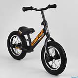Беговел - велобег Corso надувные колеса 12 дюймов, фото 2