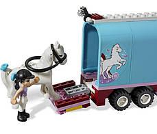 """Конструктор Bela """"Эмма и трейлер для её лошадки"""" 217 деталей арт.10161 (аналог LEGO Friends 3186), фото 3"""