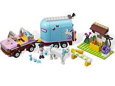 """Конструктор Bela """"Эмма и трейлер для её лошадки"""" 217 деталей арт.10161 (аналог LEGO Friends 3186), фото 2"""