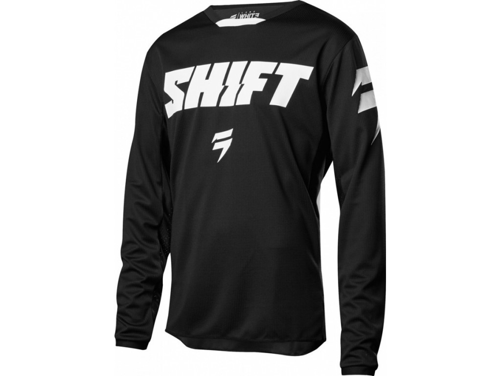Джерси Shift Whit3 Ninety Seven Jersey Black XXL