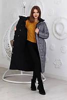 Женская зимняя куртка-пальто синтепон 250  новинка 2021