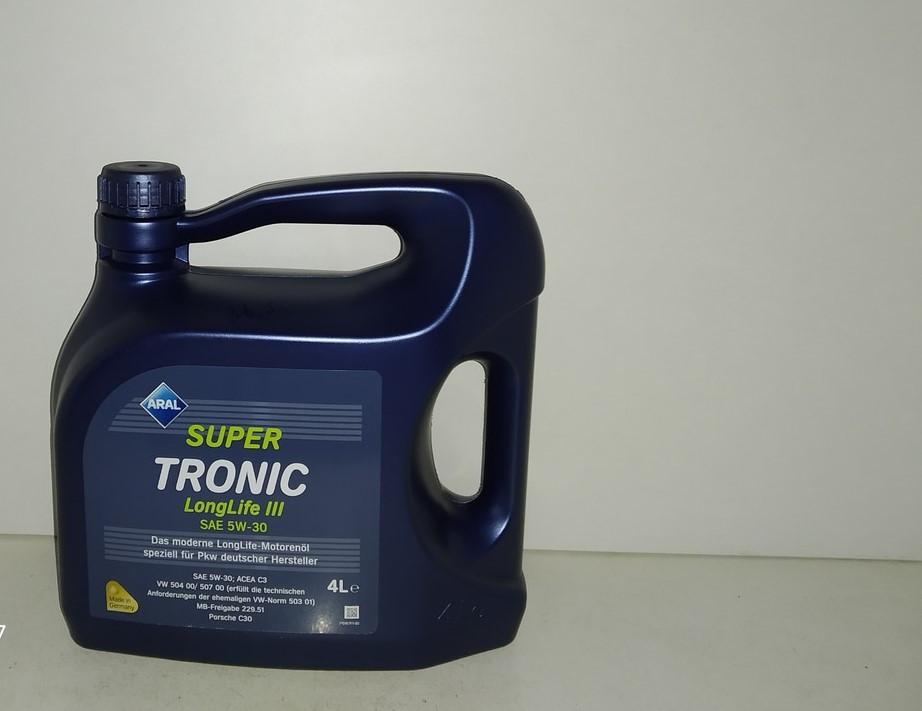 Масло моторное Aral Super Tronic 5w30 Long Life 3 4л