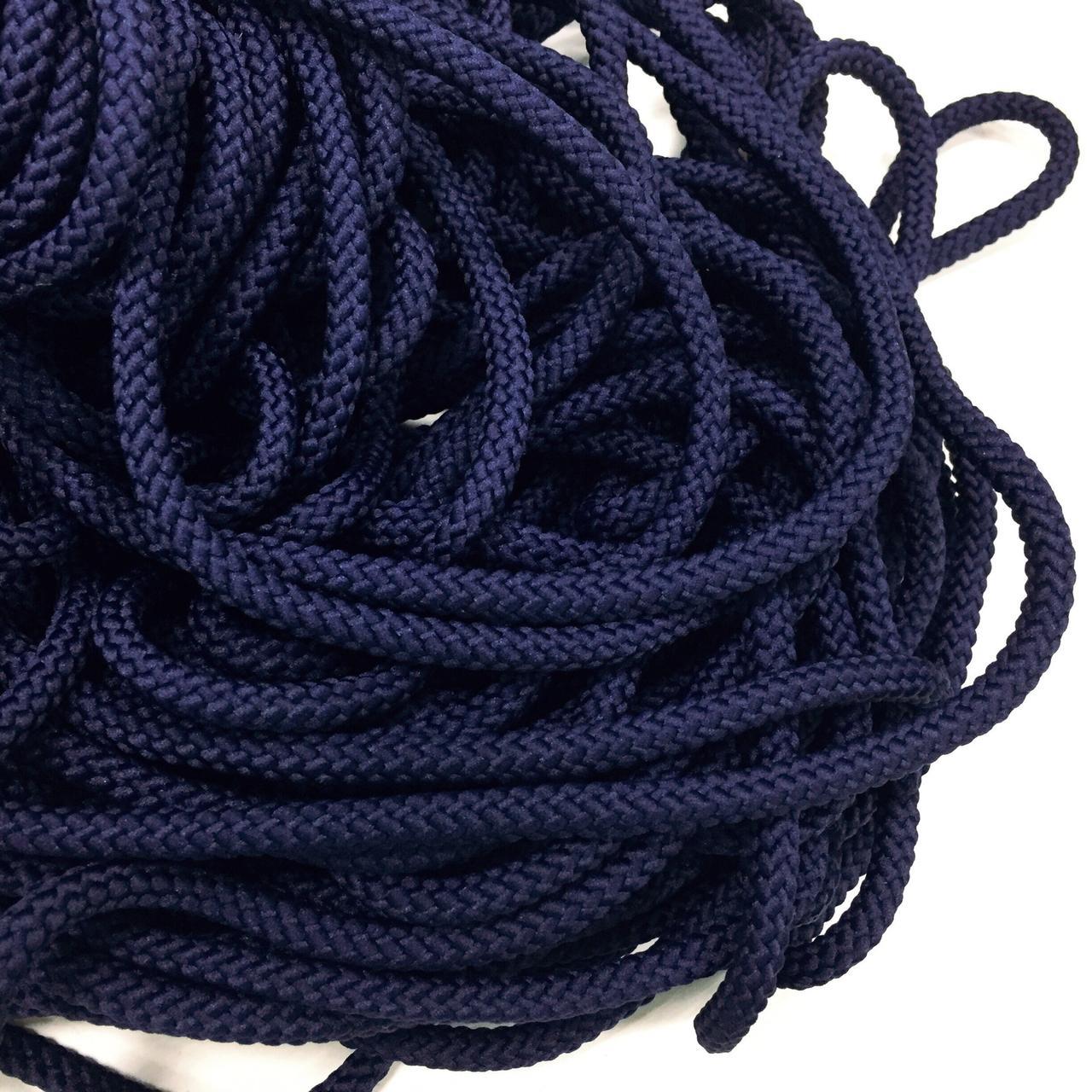 Вішалка для одягу з наповнювачем 6мм кол синій (уп 100м) 26Ф