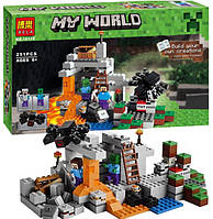 """Конструктор Bela Minecraft 10174 """"Пещера"""" (аналог LEGO 21113), 251 деталь"""