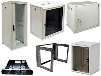 Шкафы, боксы, монтажные коробки