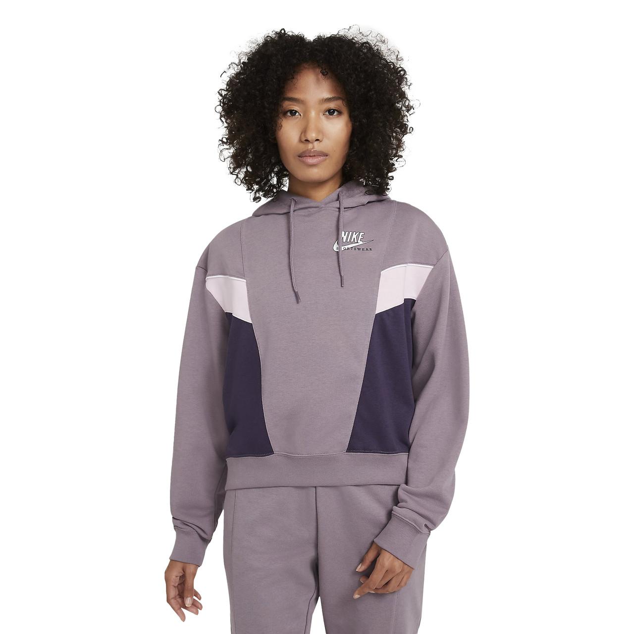 Толстовка жіноча Nike Sportswear Heritage Hoodie Fleece CZ8604-531