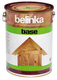 Грунтовка антисептик для защиты древесины Belinka Base 1 л