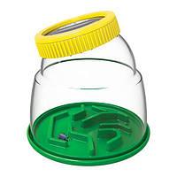 Детский развивающий набор натуралиста Edu-Toys Контейнер для насекомых с лупой 5x (JS010), фото 1