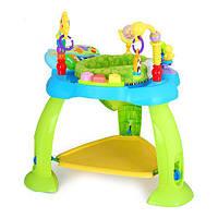 Детский игровой развивающий центр Hola Toys Музыкальный стульчик, голубой (696-Blue), фото 1