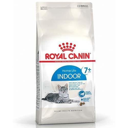 Сухой корм Royal Canin Indoor 7+ для кошек старше 7 лет постоянно живущих в помещении, 400 г