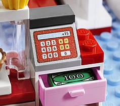 """Конструктор Bela """"Кафе в городском парке"""" 221 деталей арт.10162 (аналог LEGO Friends 3061), фото 3"""