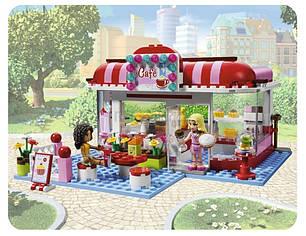 """Конструктор Bela """"Кафе в городском парке"""" 221 деталей арт.10162 (аналог LEGO Friends 3061), фото 2"""