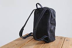 Рюкзак шкіряний LR-11 Синій