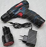Шуруповерт акумуляторний Беларусмаш БША-18-38 (набір інструменту), фото 5