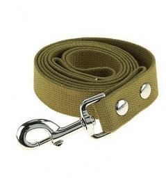 Поводок брезентовый 30мм/4,6м для собак Фауна 302150