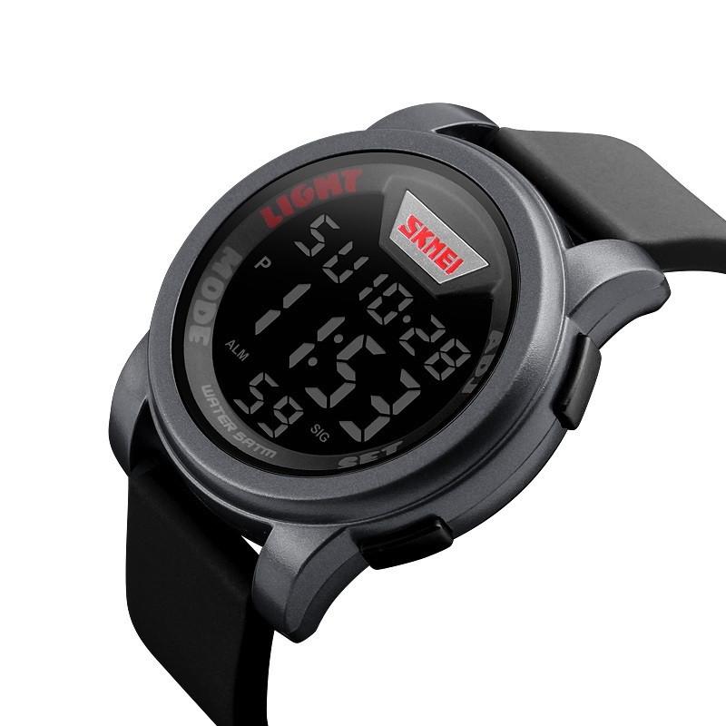Мужские спортивные часы Skmei 1218 серые