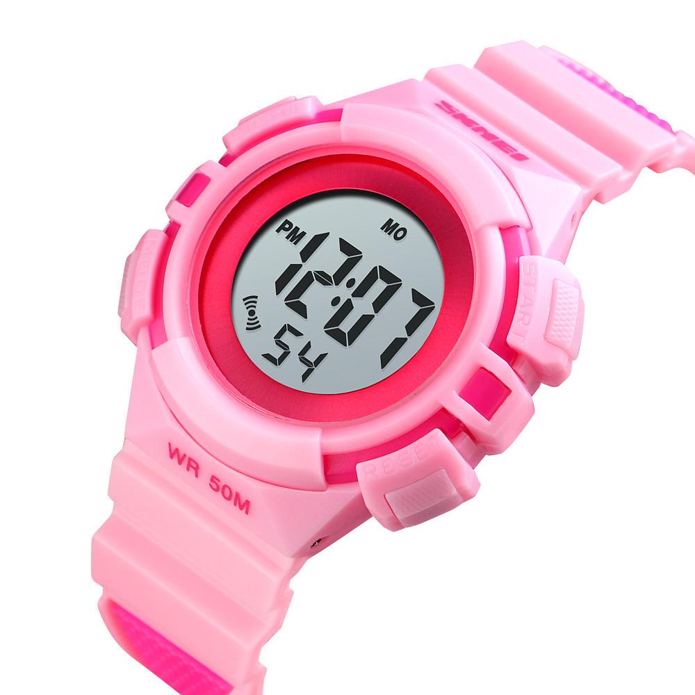 Детские спортивные часы Skmei 1485 розовые