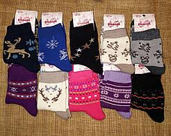 Жіночі махрові шкарпетки Смалій