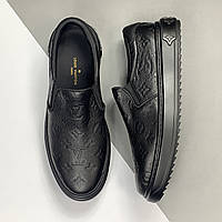 Мужские слипоны Louis Vuitton (Луи Виттон) арт. 39-113, фото 1