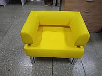 Офисное кресло для офиса Стронг (MebliSTRONG) - желтый матовый цвет