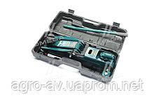 Домкрат подкатной, 2,5т.,пластик, Н=133/387 11,5 кг, (ARM-11PVC) с предохранителем (пр-во ARMER)