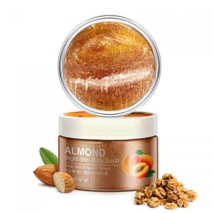 Скраб для тела Bioaqua almond body scrub с экстрактом абрикоса, 120 г