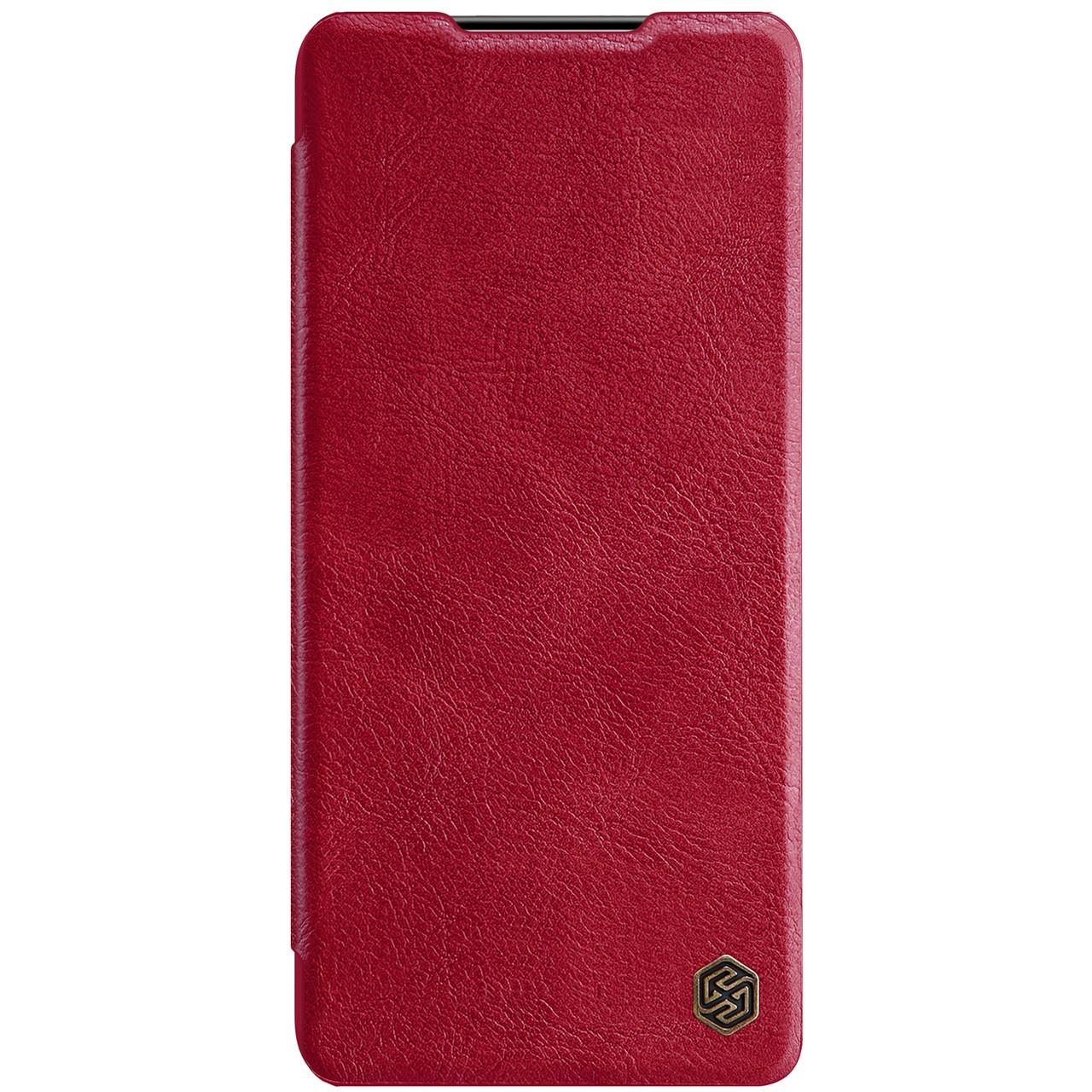 Захисний чохол-книжка Nillkin для Samsung Galaxy S21+ Qin leather case Red Червоний