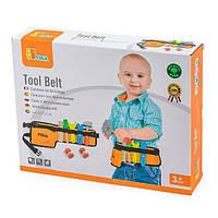Деревянный игровой набор Viga Toys Пояс с инструментами (50532), фото 1