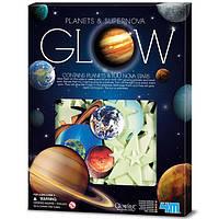 Набор светящихся наклеек 4M Планеты и 100 звезд (00-05631), фото 1