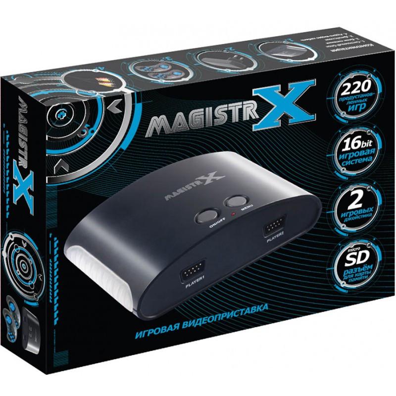 SEGA MAGISTR X игровая приставка | 220 встроенных игр 16 бит | поддержка карт памяти