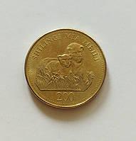 200 шилінгів Танзанія 2008 р., фото 1