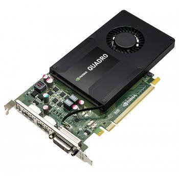 Видеокарта Dell Grafikkarte Quadro K2200 4GB 1xDVI 2xDP PCI-E (0XFDRD)